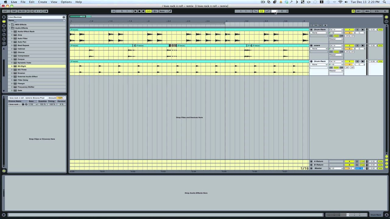 make music with ableton live youtube autos post. Black Bedroom Furniture Sets. Home Design Ideas