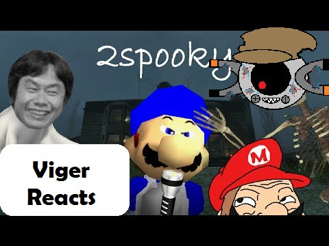 "Download Viger Reacts to SMG4's ""SM64 halloween 2015: The 2Spooky story"""