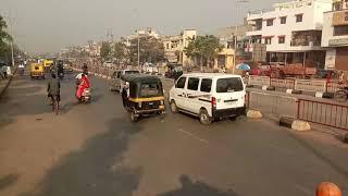 Surat live accident bus accident