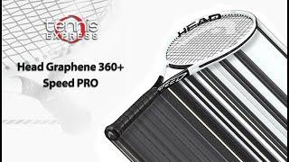 HEAD Graphene 360+ Speed Pro Tennis Racquet Review: Tennis Express