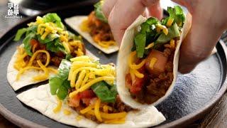 멕시칸요리도 진짜쉽게! 타코 칠리! 미니!! 100% …