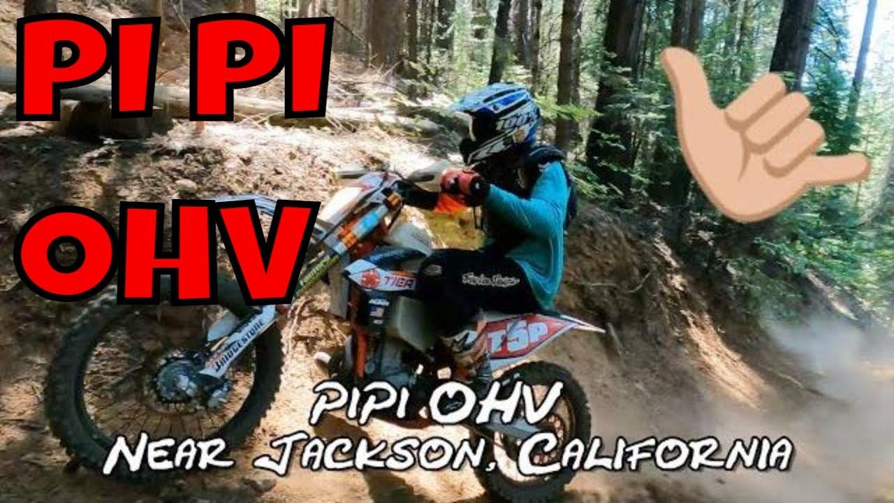 Pi Pi OHV Near Jackson California Dirt Bike Road Trip