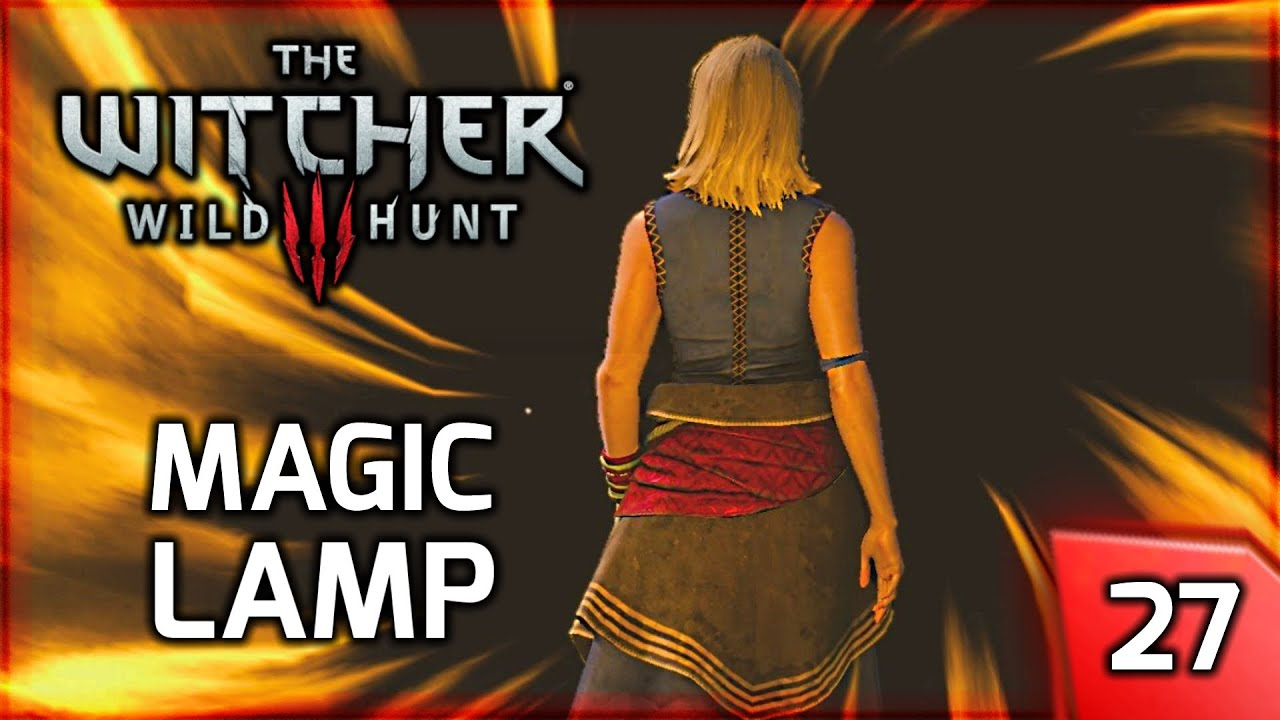 The Witcher 3: Magic Lamp - Riddles in the Dark - Story & Gameplay ...