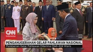 Presiden Jokowi Anugerahkan Gelar Pahlawan Nasional Bagi 4 Tokoh Bangsa, Hari Pahlawan