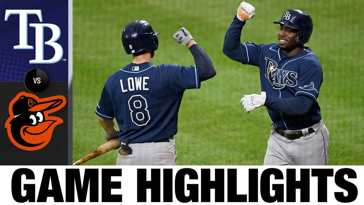 The Rays balance offense for a 3-1 win in Game 1 | Rays-Orioles Game 1 Highlights 9/17/20