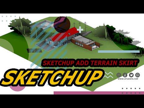 Sketchup Add Terrain Skirt