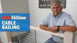 How to Install a Cable Railing   Ask This Old House