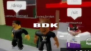 Lil Jojo - BDK (Official Music vid) ROBLOX