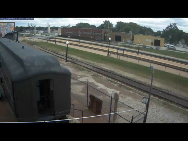 Galesburg Railroad Museum North Camera 1 Live Stream