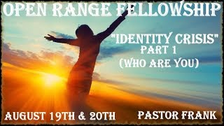 Identity Crisis - Part 1: Who Are You?