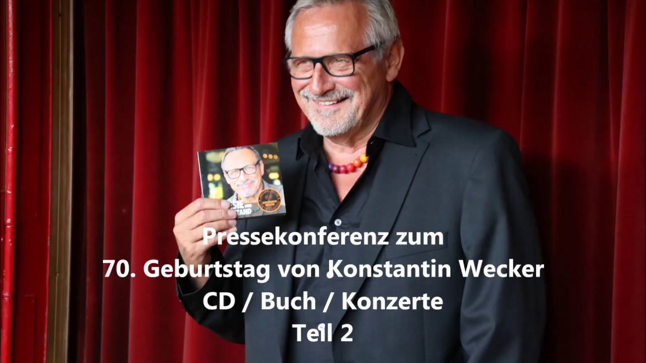 Konstantin Wecker Youtube