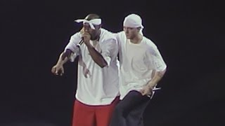 Скачать Eminem X Nate Dogg Till I Collapse Live In Las Vegas 2002