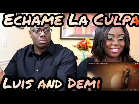 Luis Fonsi, Demi Lovato - Échame La Culpa | Couple Reacts