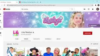 Like Nastya, сколько зарабатывает канал на YouTube?