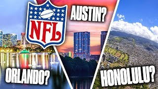 10 GREAT Cities that DESERVE an NFL Team
