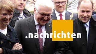 STUDIO 47 .nachrichten | 13.03.2018 | BUNDESPRÄSIDENT STEINMEIER ZU BESUCH