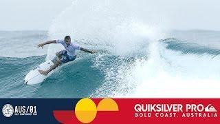 Round One, Heat 3 Recap - Quiksilver Pro Gold Coast 2017