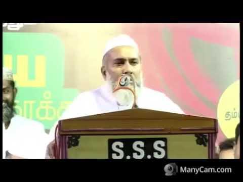 Hazrat Maulana Abu Talib Rahmani sb addressing at Tahaffuz e shariat Conference