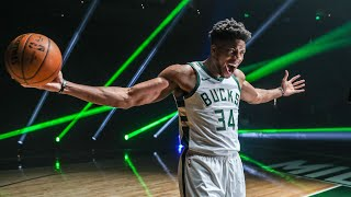 """Giannis antetokounmpo, the nba's reigning two-time most valuable player, has signed a multi-year extension with milwaukee bucks.""""giannis is once in g..."""