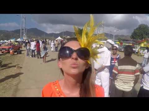 Trinidad 2016r. Anulka & Janek Trini Carnival Port of Spain !!