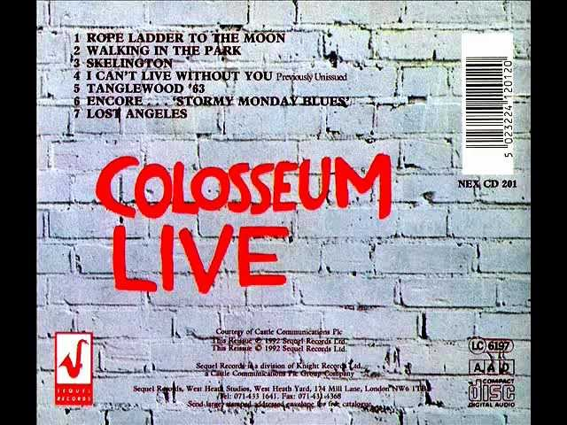 Colosseum - Lost Angeles 1971
