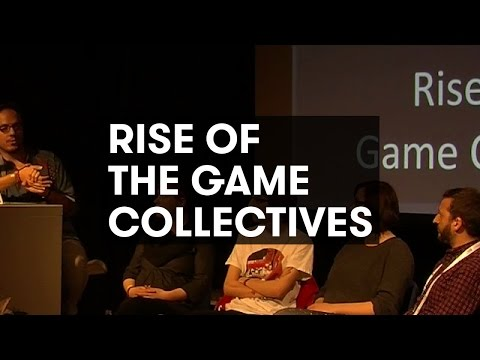Rise of the Game Collectives Panel: Roman (FR), Mech (DK), Abbas (UK), Djemili (DE), Haukland (NO)