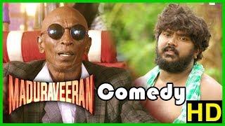 Madura Veeran Tamil Movie   Comedy Scenes   Shanmuga Pandian   Bala Saravanan   Rajendran
