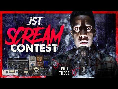 JST SCREAM CONTEST (Win A Slate Digital Ml1 Mic & Jst Vocal Plug-in Bundle)