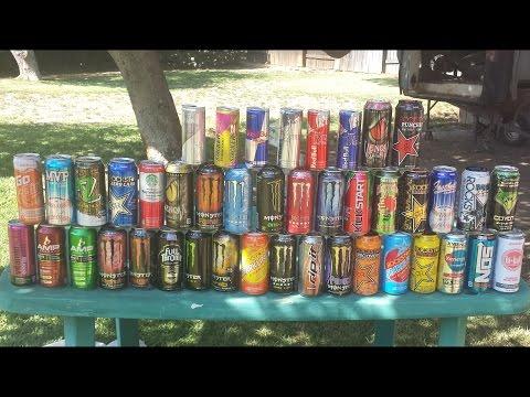 Blendurrr - Blending 43 Energy Drinks
