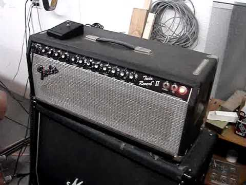Fender Twin Reverb Ii Amp Head W Rivera Mods Best