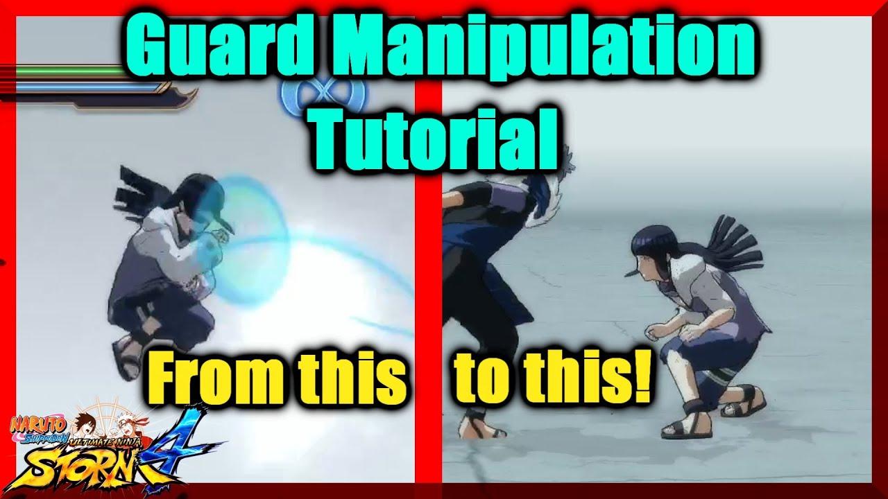 Naruto Storm 4   Guard Manipulation Tutorial