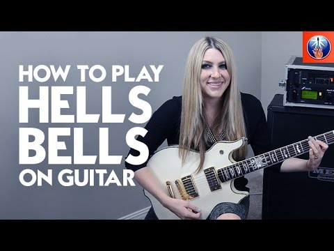 how to play hells bells on guitar ac dc guitar lesson youtube. Black Bedroom Furniture Sets. Home Design Ideas