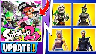 *NEW* Fortnite Update! | All S11 Halloween Skins, Splatoon Event, Greasy Grove!