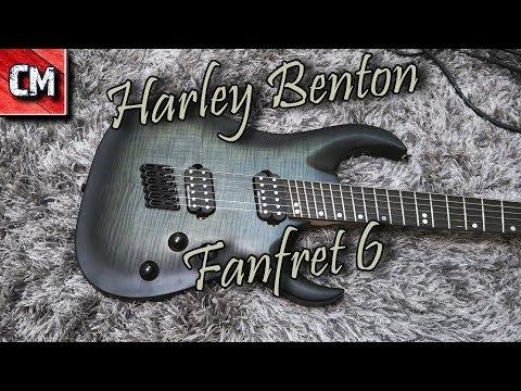 Harley Benton FanFret FBB 2018 DLX // Progressive made in vietnam !