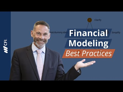Financial Modeling - Best Practices