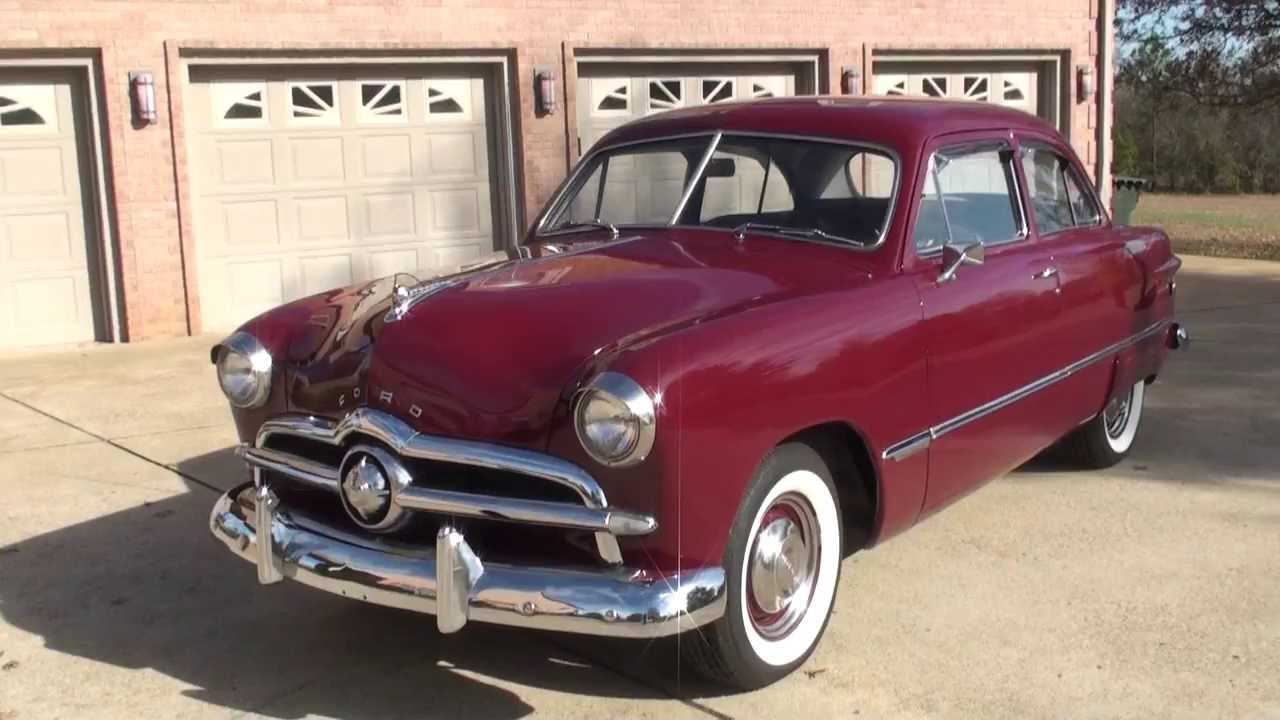 HD VIDEO 1949 FORD 49 CUSTOM TUDOR SEDAN FOR SALE SEE WWW SUNSETMILAN COM - YouTube : 1950 ford car for sale - markmcfarlin.com