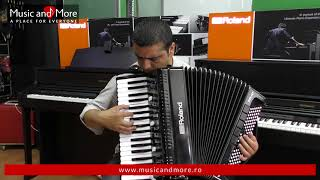 Roland FR-4x - Poate fi acordeonul perfect? www.musicandmore.ro