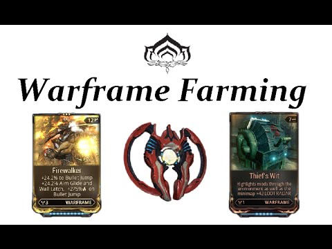 Warframe Farming - Exilus Mods