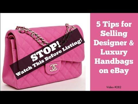 5fcd0654f599 5 Tips for Selling Designer and Luxury Handbags on eBay - YouTube