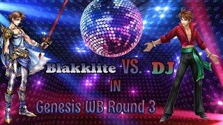 [Genesis WB R3] Blakklite (WoL/Bartz) vs DJ (Salsa Bartz/WoL): M1 - M4