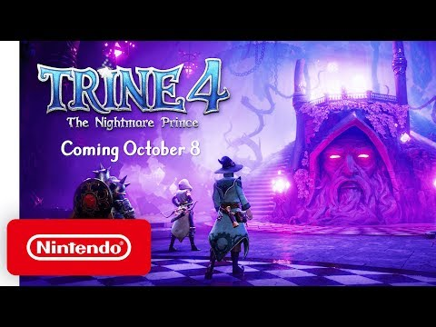 Trine 4 - Release Date Reveal Trailer - Nintendo Switch