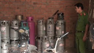 Phát hiện cơ sở sang chiết gas trái phép tại TP. Biên Hòa