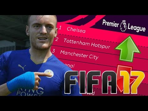 FIFA PREDICTS THE 2017-18 PREMIER LEAGUE! 🤔 FIFA 17 EXPERIMENT