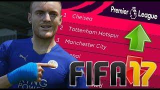 FIFA PREDICTS THE 2017-18 PREMIER LEAGUE! 🤔 FIFA 17 EXPERIMENT