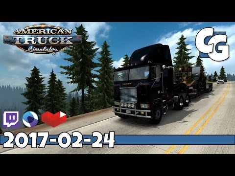 American Truck Simulator - VOD - 2017-02-24 - Yosemite! Project West v1.2 - ATS Gameplay