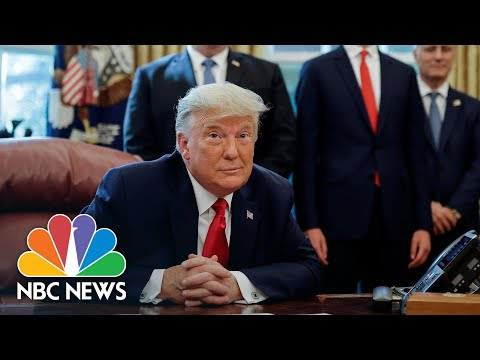 Trump Announces Peace Agreement Between Israel And Sudan   NBC News NOW