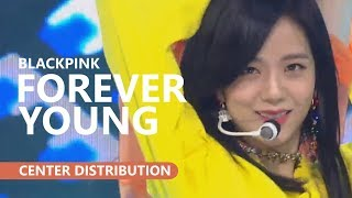 BLACKPINK 블랙핑크 - FOREVER YOUNG | Center Distribution
