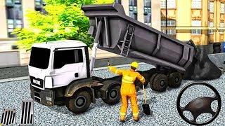 Mega City Road Construction Real Builder - Construction Vehicles: Excavator, Dumper Truck, Bulldozer