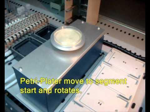Robotic Petri-Plater
