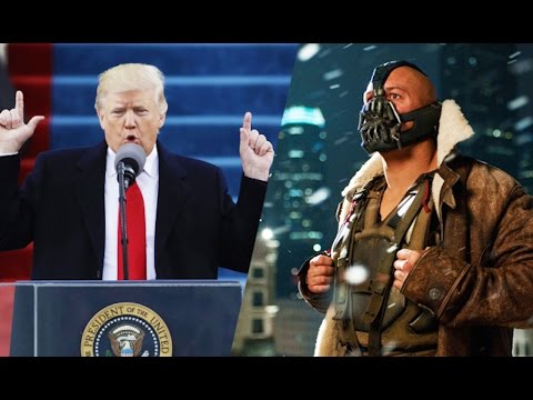 Trump Quotes Bane In Inauguration Speech